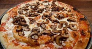 طريقة عمل المشروم للبيتزا , احلي طريقه بيتزا بالمشروم
