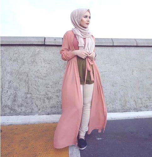 صورة صور ملابس المحجبات 2019 , واااو احلي استايلات للمحجبات 3297 1