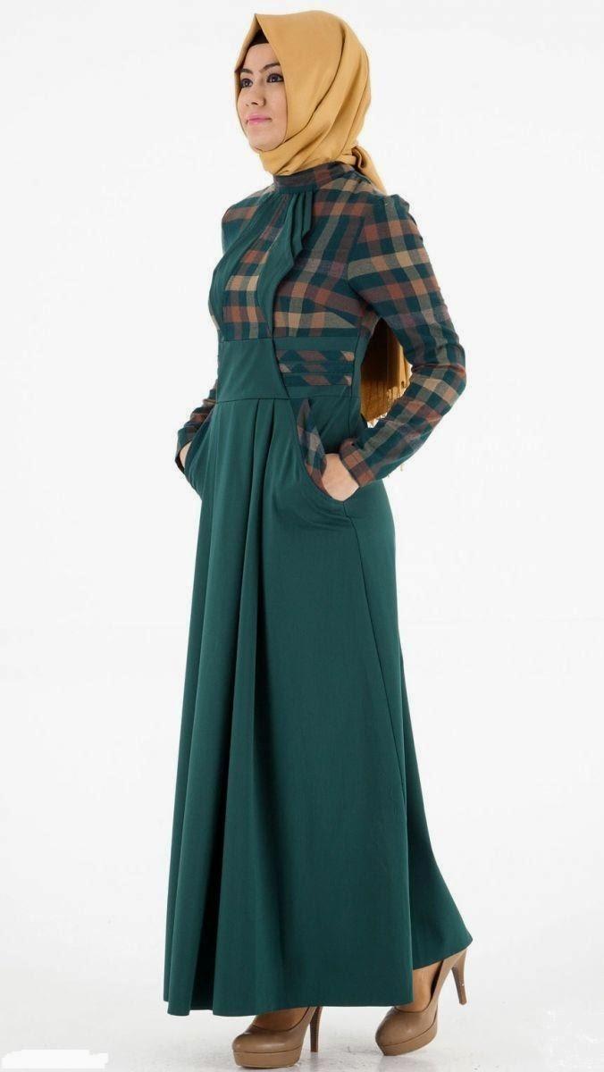 صورة صور ملابس المحجبات 2019 , واااو احلي استايلات للمحجبات 3297 5