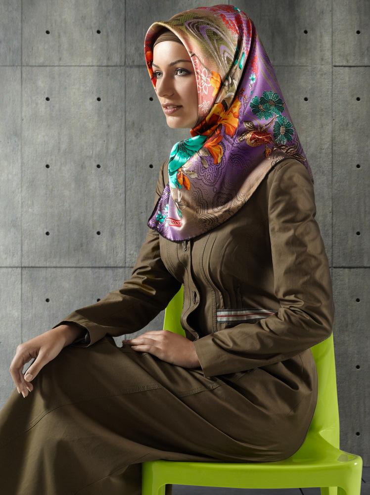 صورة صور ملابس المحجبات 2019 , واااو احلي استايلات للمحجبات 3297 7