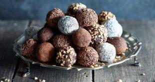 طريقة عمل الشوكولاته منال العالم , واااو اروع شيكولاته ممكن تعمليها