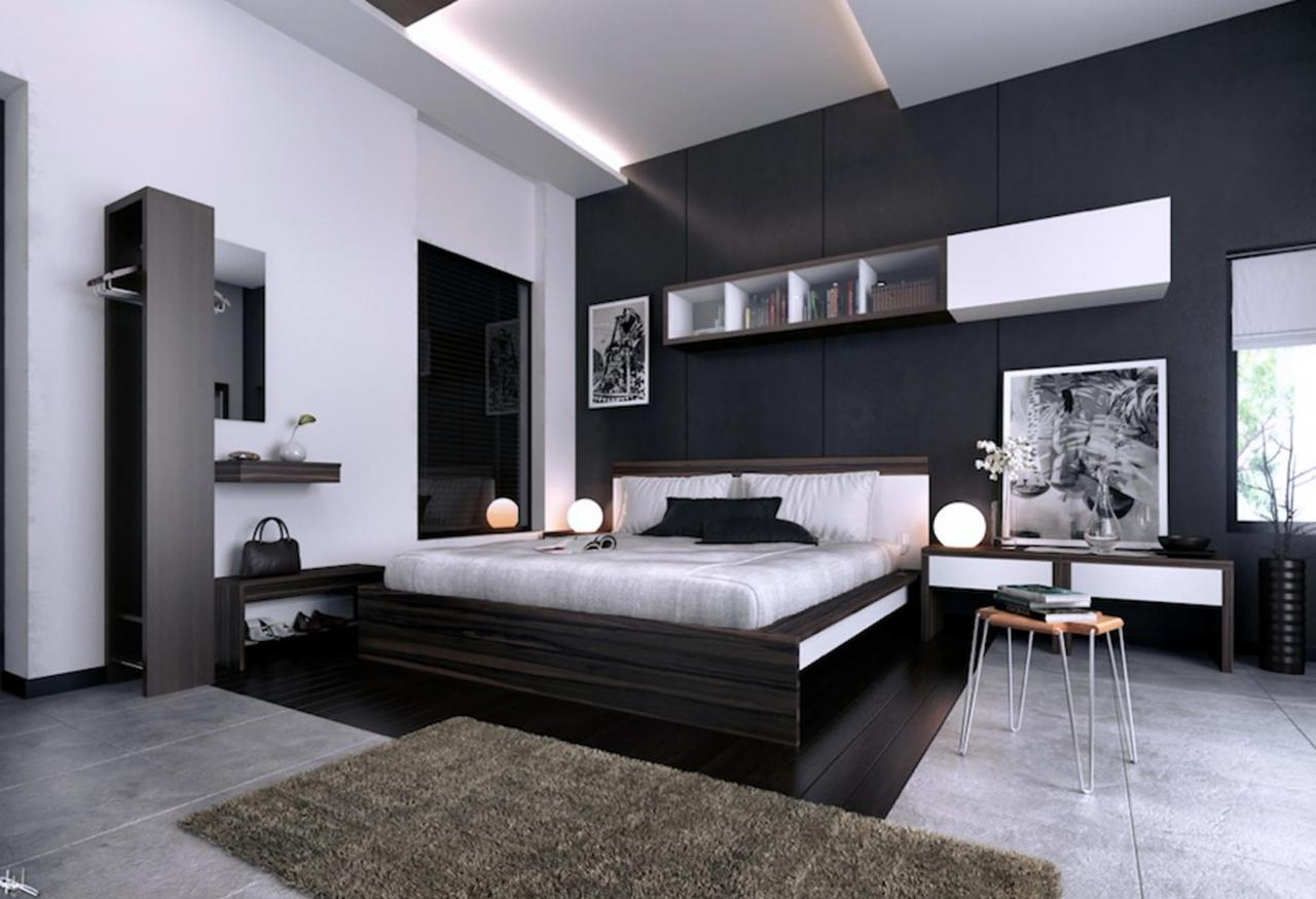 صورة ديكورات غرفة نوم 2019 , الوان و صيحات جديده لغرف النوم