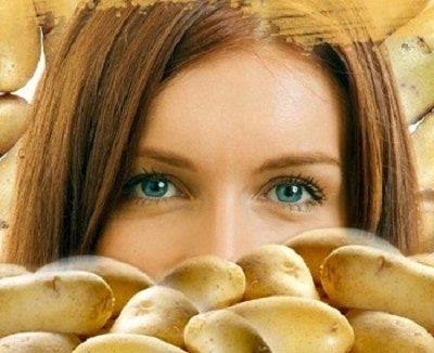 صورة ماسك البطاطس للبشرة الدهنية , البطاطس وفوائدها للبشرة الدهنية