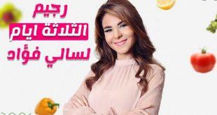 نصائح سالي فؤاد لانقاص الوزن , اروع النصائح لعدم الاصابه بالسمنه