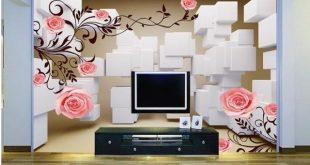 صورة رسم 3d على الحائط , اروع رسومات 3d تحفه