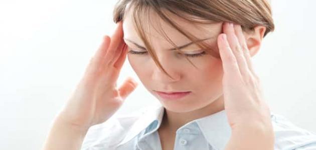 صورة اعراض الصداع النصفي , شعور مريض الصداع وكيفيه علاجه