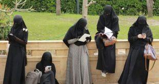 صورة ما حكم النقاب , راي اهل الفقه في لبس النقاب