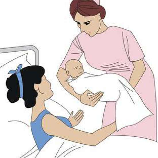 صورة الرحم بعد الولادة الطبيعية , تقلصات الرحم بعد الولادة