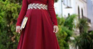 صور فساتين سواريه نبيتى فى دهبى , اجمل الفساتين السواريه