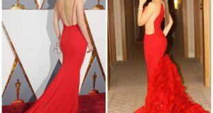 صور فساتين حمراء طويلة , لكل من يعشق اللون الاحمر
