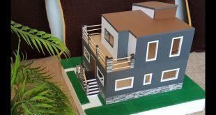 صور كيفية صنع منزل بالكرتون , عمل بيت لعبه بنفسك