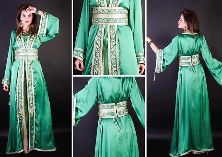 صورة احسن ثوب مليفة , افضل اقمشه للجلاليب المغربيه