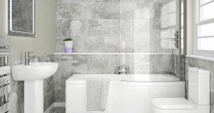 افكار حمامات صغيرة , استغلال المساحات الضيقه للحمامات