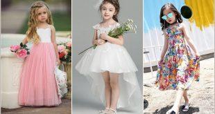 صورة فستان اطفال للعيد , اشيك فساتين للبنات في العيد