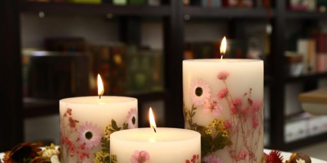 صور اجمل الشموع الرومانسية , اصنعي اجمل جو رومانسي بواسطه الشموع