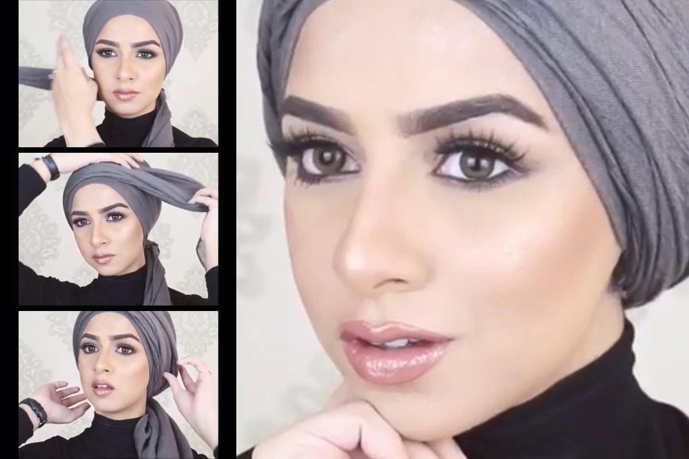 صورة صور لفات الحجاب , اشيك لفه حجاب