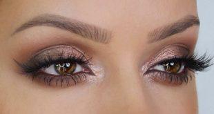 مكياج عيون ترابي , تعرفي على افضل لون مكياج للعيون