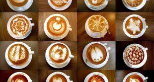 صور فن الرسم على القهوة , ابداع الرسم على فنجان القهوة