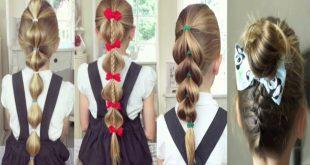 صورة تسريحات شعر للبنات الصغار سهلة , زيدي جمال طفلتك بتسريحات شعر و لا اروع