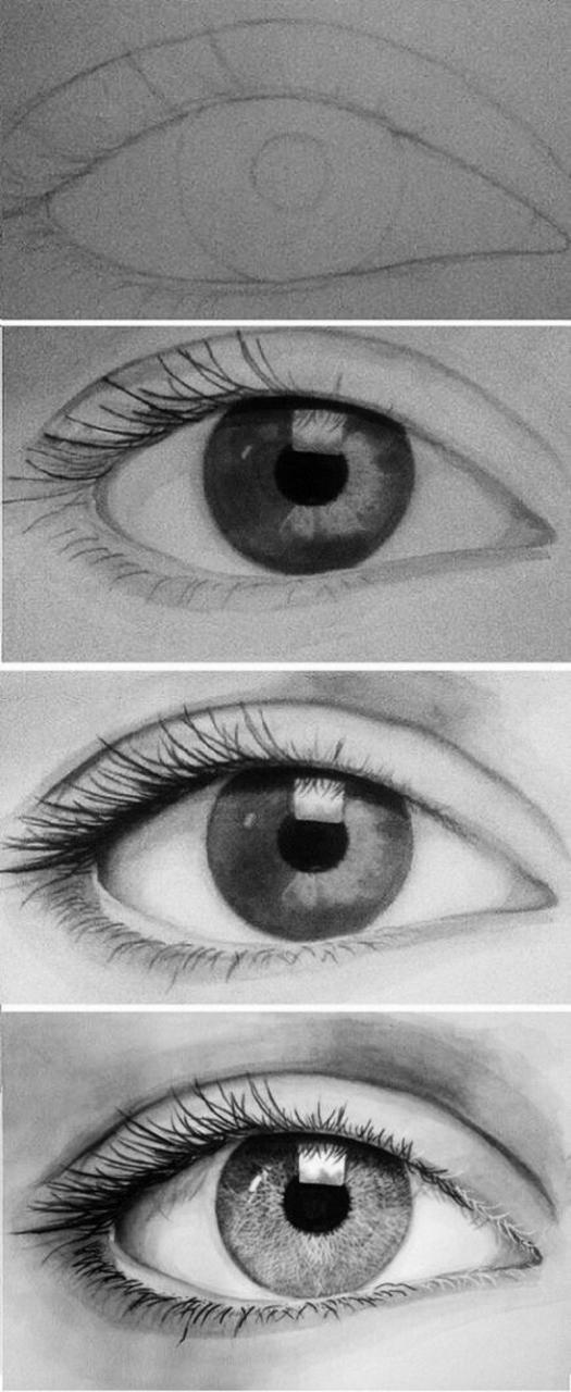 خطوات رسم العين كيف تتعلم ان ترسم عينيك بسهولة طقطقه