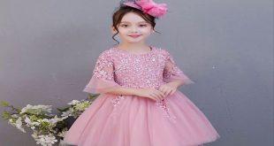 صورة اجمل الفساتين للبنات الصغار , اشيك موضة فساتين للبنات كيوت