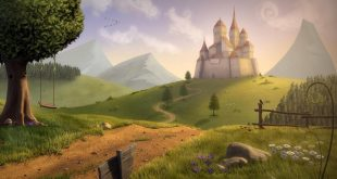 صورة رسمة عن الريف , سحر الريف وجمال سكونه