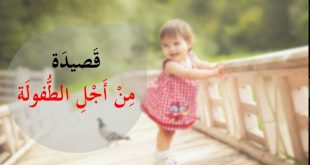 صورة شرح قصيدة من اجل الطفولة , من كاتب قصيده من اجل الطفوله