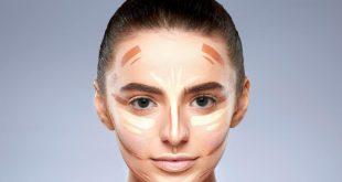 صورة طريقة كونتور الوجه , اسهل طريقة لوضع كونتور الوجة للمبتدئين
