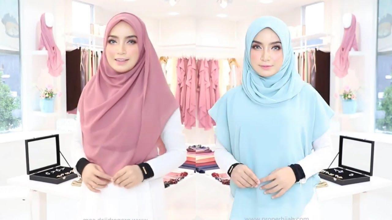 صورة لفات حجاب جديدة , لفات الحجاب اذواق ومعانا اجدد واروع اللفات