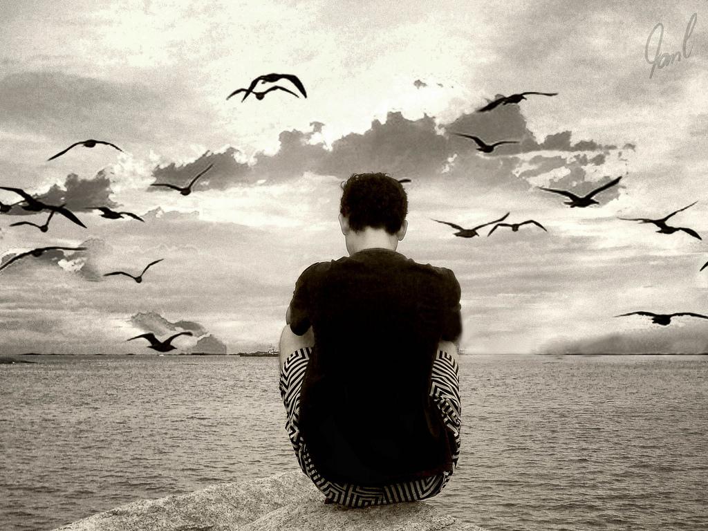 صورة صور رومانسيه حزينه جدا , ازاى تعبر عن حالتك النفسيه من خلال الصور