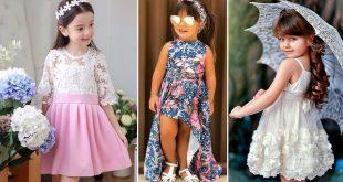 صورة ملابس العيد بنات , الموضة الجديدة للبس العيد