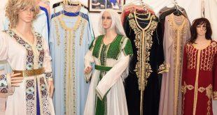 صورة ملابس تقليدية مغربية للنساء , اجمل اللمسات الرائعة في الازياء والموديلات