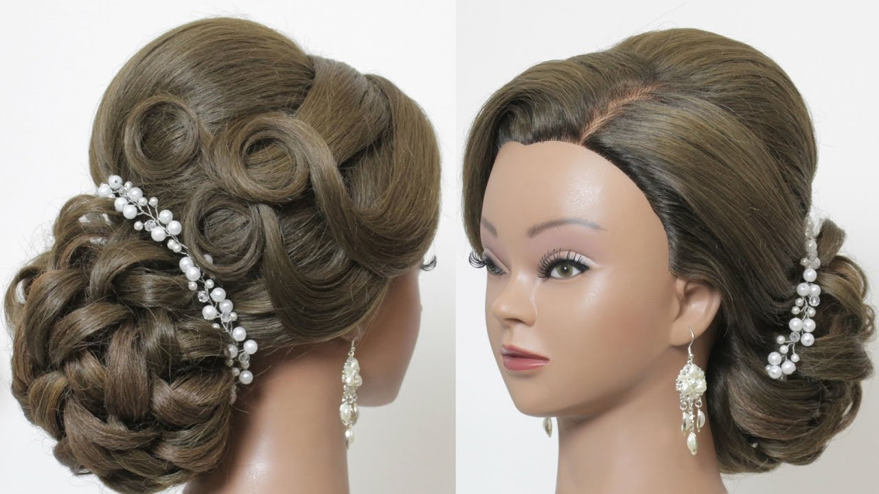 صورة طريقة رفع الشعر , اجدد تسريحات لرفع الكحكة بشكل جميل جدا