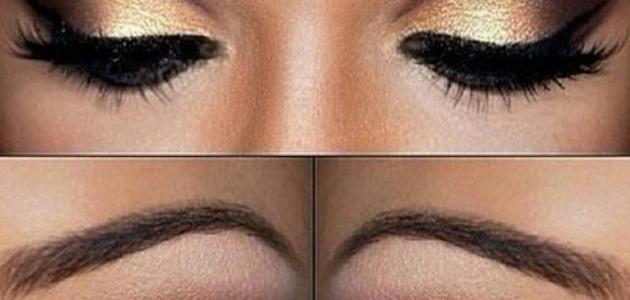 صورة اسرار مذهلة لعيون ساحرة ومتألقة , وضع مكياج العيون