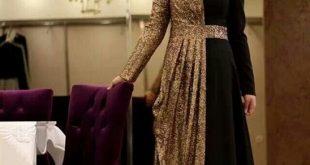 صورة احدث قصات الفساتين السواريه , واو اجمل انواع الفساتين الفخمه