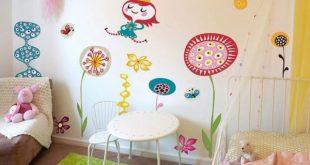 صورة احدث دهانات غرف الاطفال , ما اجمل هذه الدهانات المتألقة
