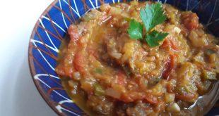 صورة اعملي احلي طبق متبل باذنجان , الباذنجان المشوي على الطريقة التركية