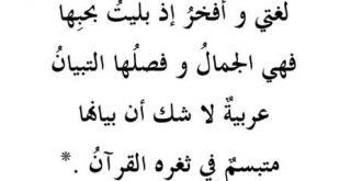 صورة اروع كلمة رأيتها فحياتي , كلمة عن اللغة العربية الفصحى