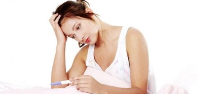 صورة لا تظهر عليكي علامات الحمل شاهدي السبب , سبب عدم الحمل