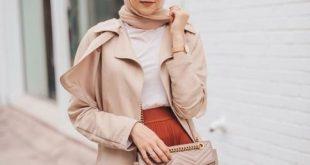 صورة ارتدي احلي موديلات ملابس شتوية للمحجبات , ازياء محجبات شتاء 2019