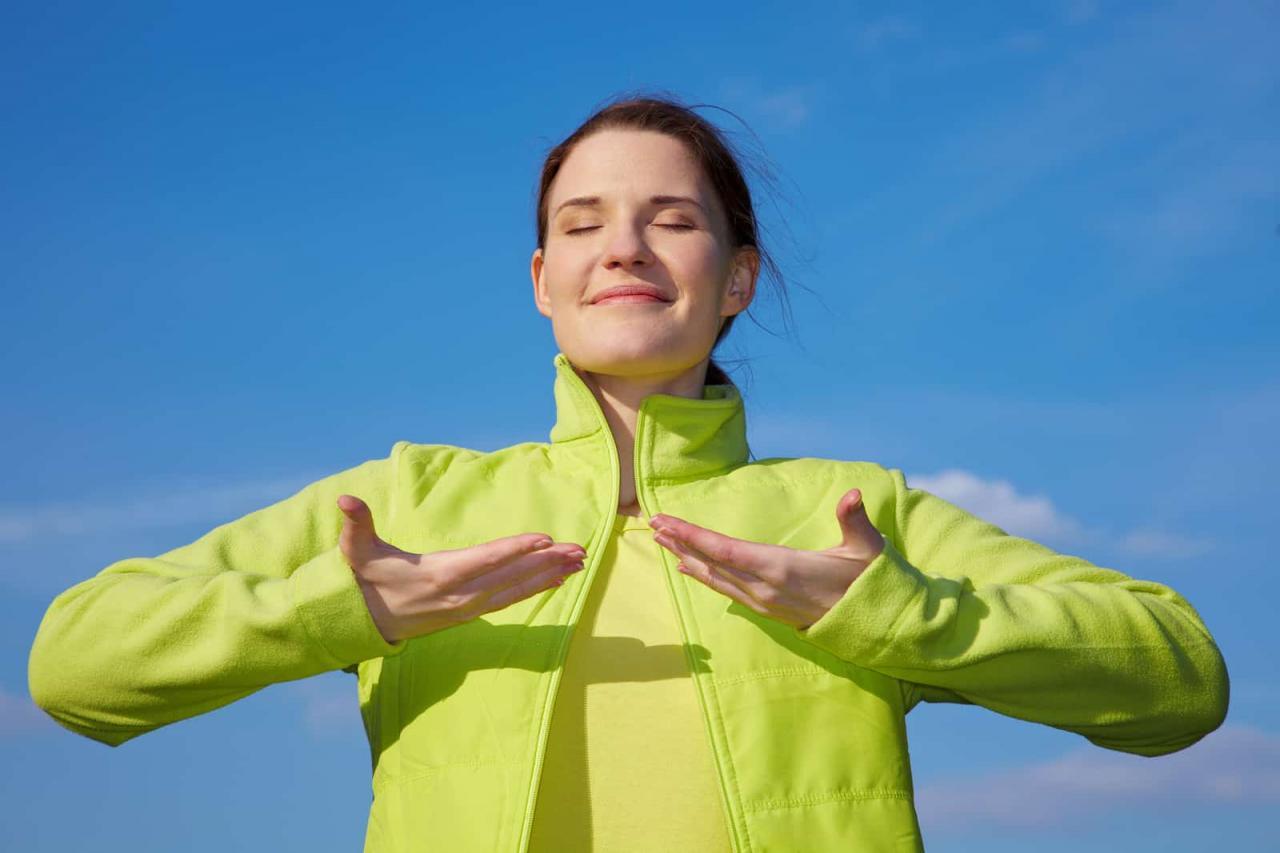 صورة هل تريد الحفاظ علي صحتك , فوائد التنفس العميق